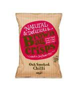 Brown Bag Crisps - Oak Smoked Chilli Crisps - 10 x 150g