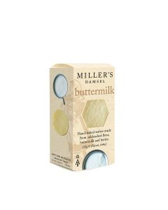 Artisan Biscuits - Miller's Buttermilk Wafers - 12 x 125g