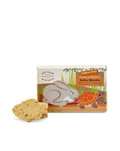 Two By Two - The Hare & The Tortoise Toffee Biscuits - 12 x 100g