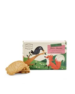 Two By Two - The Fox & The Crow Cherry Biscuits - 12 x 100g