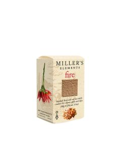 Artisan Biscuits - Miller's Fire Smokes Flour & Red Hot Chilli Crackers - 12 x 100g