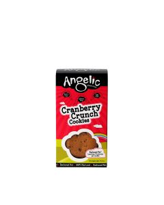 Angelic Gluten Free - Cranberry Crunch Cookies - 8 x 125g