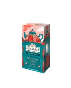 Ahmad Tea -  Strawberry Velvet Cake Tea Bags (15) - 5 x 30g