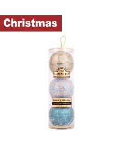 Ahmad Tea - Magical Tea Bauble Caddies - 8 x 60g