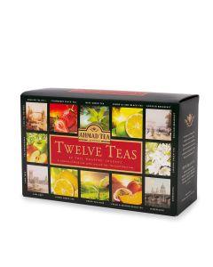 Ahmad Tea - Twelve Teas (12 x 5 foil-enveloped teabags) - 8 x 120g