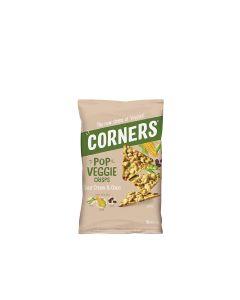 Corners - Pop Veggie Crisps - Corn, Peas & Bean Sour Cream & Onion - 8 x 85g