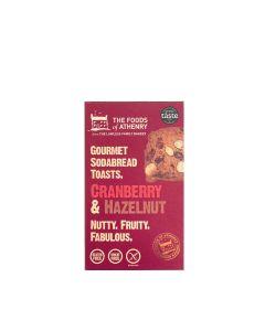 Foods of Athenry, The - Cranberry & Hazelnut Soda Bread Toast - 12 x 110g