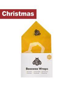 Black Bee Honey - Beeswax Wraps - Bread Wrap (Yellow) - 10 x 0.07g