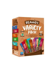 Beanies Coffee - Variety Pack (12 Stick Sachets) - 6 x 24g