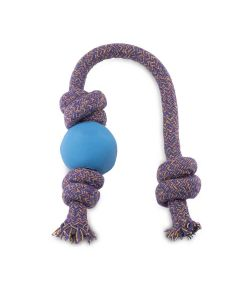 Beco - Ball on Rope - Large Blue x 1