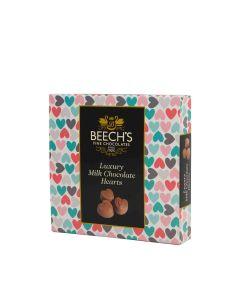 Beech's - Luxury Milk Chocolate Hearts - 12 x 65g