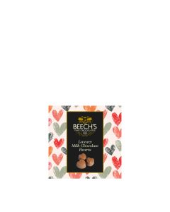 Beech's - Luxury Milk Chocolate Hearts - 12 x 65g