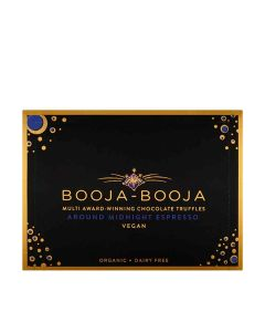 Booja-Booja - Organic Around Midnight Espresso Chocolate Truffles - 8 x 92g