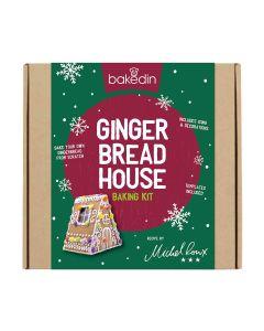Bakedin - Gingerbread House Baking Kit - 8 x 825g