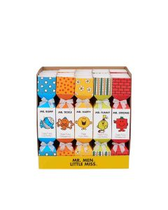 Little Miss & Mr Men - Mixed Case: Vegan Cola Bottles, Strawberries & Fruit Jellies in Mr Men Crackers - 20 x 80g