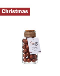 Infinity Brands - Sam & Greg's Gourmet - Glass Bottle Filled with Irish Coffee Flavoured Truffles - 6 x 320g