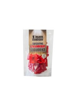 Black Liquorice Co. - Soft Eating Strawberry Liquorice - 6 x 180g