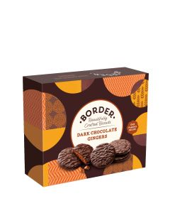 Border Biscuits - Gift Box of Dark Chocolate Gingers - 6 x 255g
