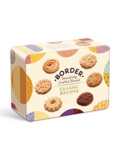 Border Biscuits - Gift Tin of Classic Biscuits - 6 x 500g
