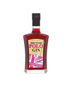 British Polo Gin - Strawbery & Rose Gin - Zero added sugar 37.5% Abv - 6 x 700ml