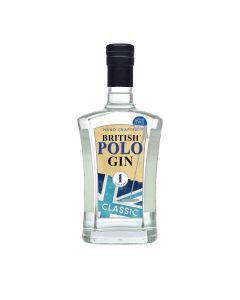 British Polo Gin - Classic London Dry Gin - 100% Organic 42% Abv - 6 x 700ml