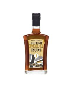 British Polo Gin - Spiced Rum - 100% Organic and Double Spiced 40% Abv - 6 x 700ml