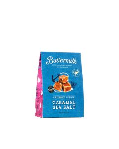 Buttermilk - Caramel Sea Salt Crumbly Fudge - 6 x 150g