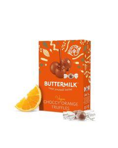 Buttermilk - Orange Choccy Truffles Stocking Filler - 7 x 80g