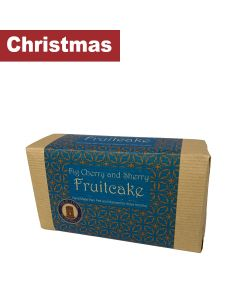 Buxton Pudding - Fig Cherry & Sherry Fruitcake Large - 7 x 500g