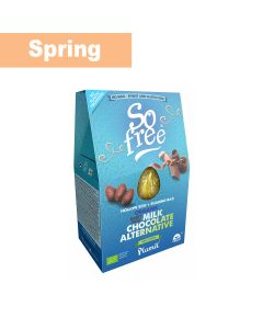Plamil - So Free Milk Chocolate Alternative Hollow Egg & Sharing bag - 3 x 125g