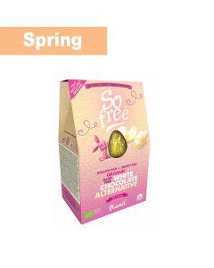 Plamil - So Free White Choc Alternative Hollow Egg & Bunny Bag - 3 x 110g