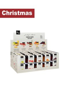 Can Bech - Selection Display of Sweet Sauces to Pair with Cheese: Peach, Raspberry, Fig, Grape and Apple - 30 x 70 g
