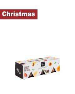 Can Bech - Gift Box Selection of 3 Flavours; Apple, Figs and Peaches - 8 x 3  x 90 g