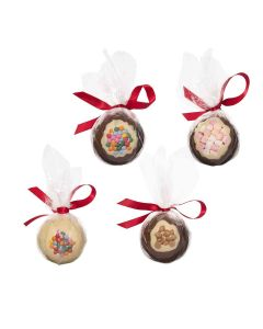 Cocoba - Mixed Case of Festive Baubles - 8 x 100g