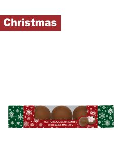 Cocoba - Hot Chocolate Bomb Cracker - 6 x 150g