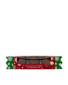 Cocoba - Christmas Hot Chocolate Bombe Cracker - 6 x 150g