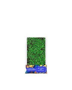 Cocoba - Mint Crunch Dark Chocolate - 10 x 100g