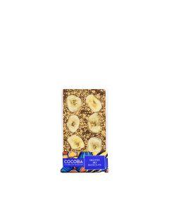 Cocoba - Banoffee Milk Chocolate - 10 x 100g