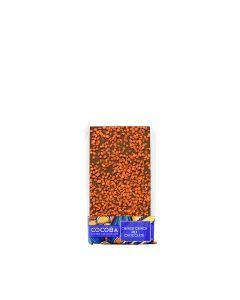 Cocoba - Orange Crunch Milk Chocolate - 10 x 100g