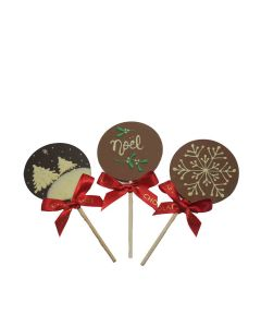 Chocolate Craft - Mixed Case of Noel Chocolate Lollies - 10 x 30g