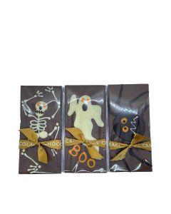 Chocolate Craft - Mixed Case of Halloween Bars - 10 x 80g