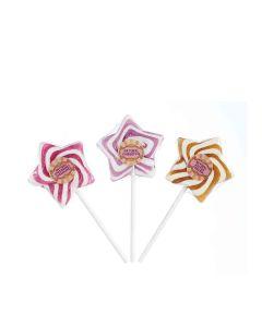 Natural Candy Shop - Natural Star Swirls Mixed Case - 18 x 60g