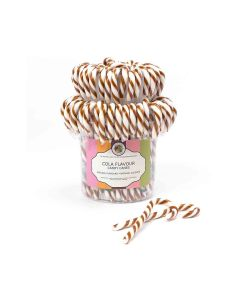Natural Candy Shop - Cola Canes in Tub  - 80 x 28g