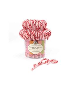Natural Candy Shop - Natural Candy Canes - Peppermint - 80 x 28g