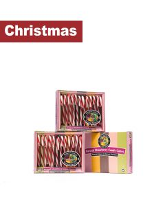 Natural Candy Shop - Candy Canes - Cradle Pack - 12 x 168g