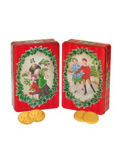 Churchill's Confectionery - Victorian Family & Friends with White Choc & Raspberry Biscuits and Shortbread - 12 x 300g