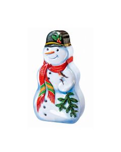 Churchill's Confectionery - Snowman Tin with Mini Choc Chip Cookies - 12 x 150g
