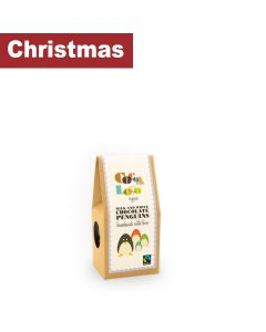 Cocoa Loco - Organic Milk & White Chocolate Penguins - 6 x 110g