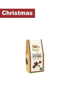 Cocoa Loco - Dark Chocolate Raspberry Stars - 6 x 100g
