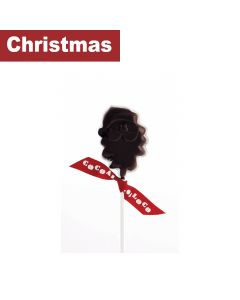 Cocoa Loco - Chocolate Santa Lolly – Dark - 12 x 40g